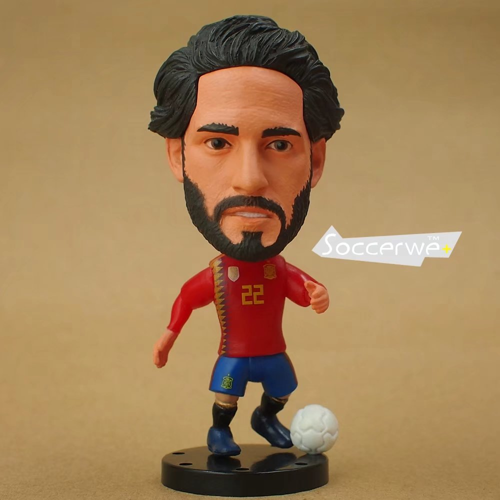 Football star Soccer Player Star 22# ISCO (ESP+2016) 2.5 Toy Doll Figure