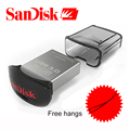Original sandisk ultra conveniente usb 3.0 flash drive de hasta 130 m/s mini pen drive 64 gb 32 gb 16 gb de soporte oficial de verificación