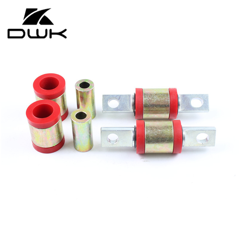 Blue ED EK For Civic//Del Sol//CRX//Integra Lower Control Arm+Rear Camber Suspension Kit