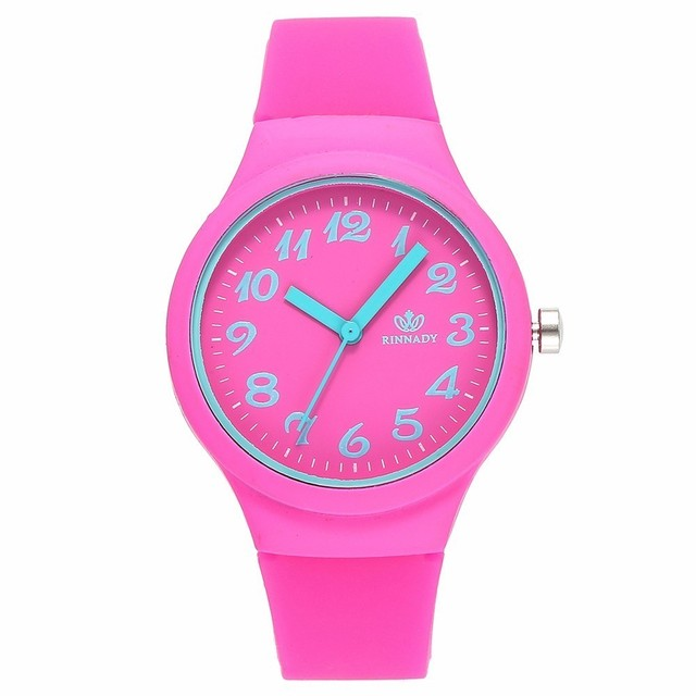 2018 Hot Fashion Jelly Silicone Women Watches Luxury Casual Ladies Quartz Dress Wristwatches Relogio Feminino Drop Shipping
