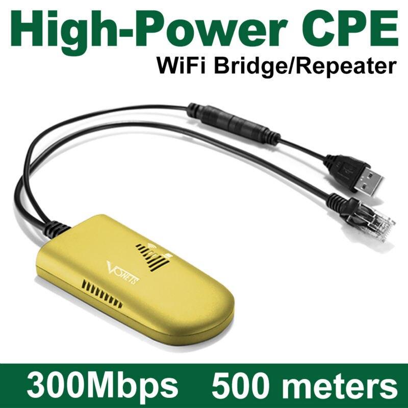 Offre spéciale VAP11G-500 longue Distance USB WiFi antenne à l'intérieur à l'extérieur Wifi pont externe sans fil jusqu'à 500m points chauds