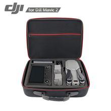 Waterproof PU Handbag Storage Bag Carrying Case For DJI Mavic 2 Pro Zoom Drone & Smart Controller Storage Case Shoulder Bag