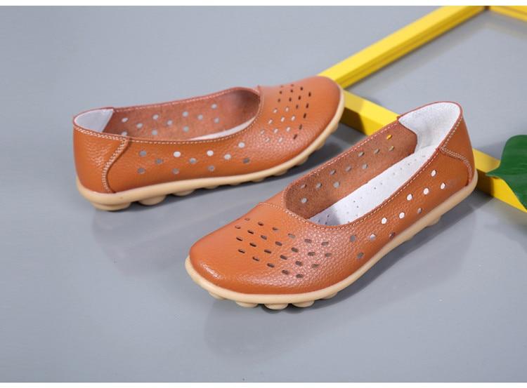 AH 5929-1-2019 Summer Woman Flats Cut-Outs Women Loafers-23