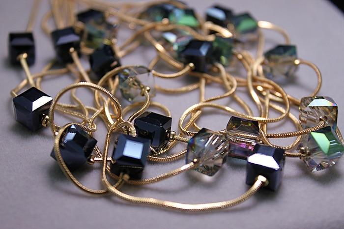 Europe Fashion Crystal smykker tilbehør, østrigske krystal perle - Mode smykker - Foto 5