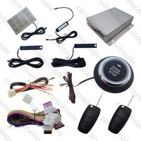 PKE Автомобильная сигнализация кнопочная кнопка старт стоп Удаленный Двигатель старт сенсорный пароль без ключа вход флип ключ Лезвия для