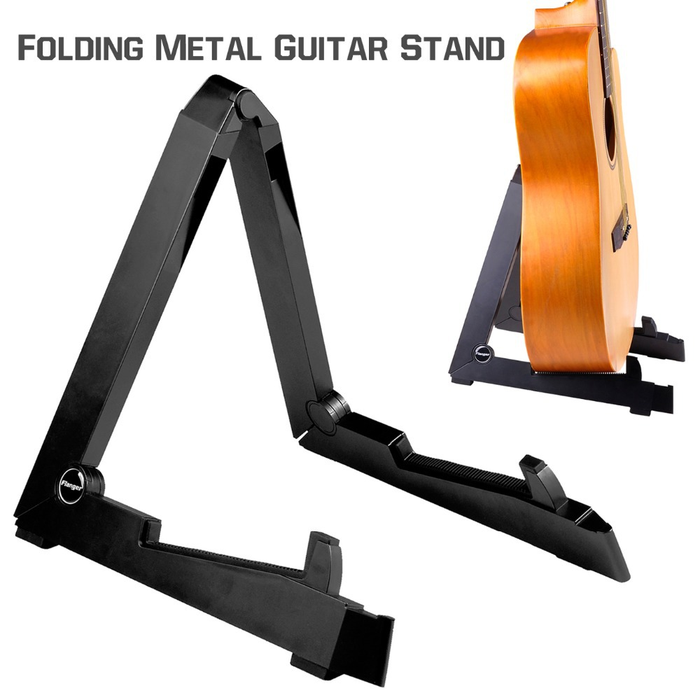 Plastic Smart Guitar Stand Holder Support for Acoustic Electric Guitar Bass Flanger FL-01 two way regulating lever acoustic classical electric guitar neck truss rod adjustment core guitar parts