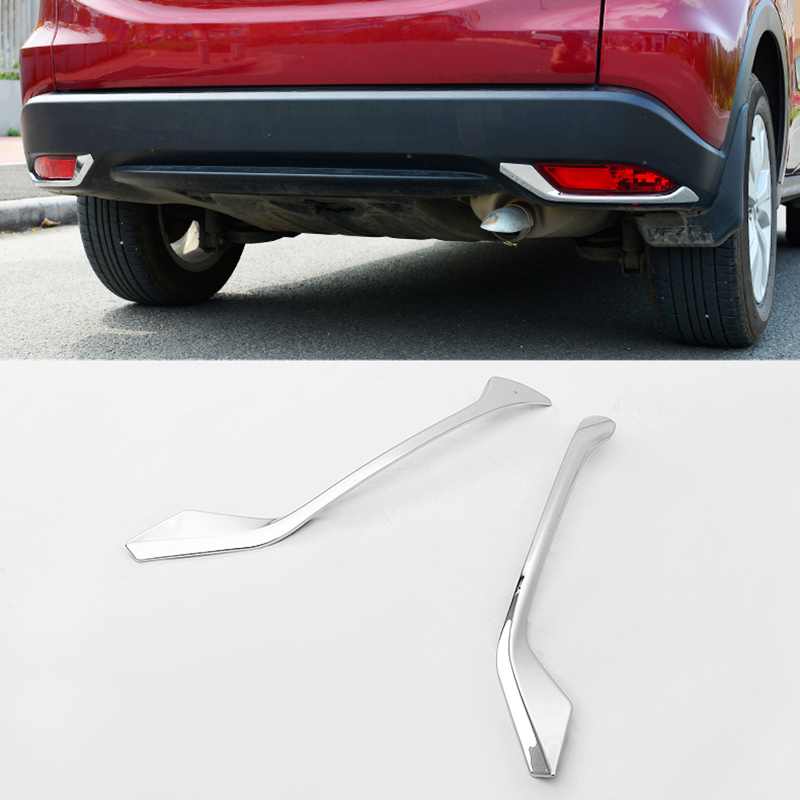 Car External Accessories Fit For Honda Vezel Hrv 2014 2015 2016 Front Back To Search Resultsautomobiles & Motorcycles Rear Foglight Lamp Cover Trim Decorative Trim P114 Auto Replacement Parts