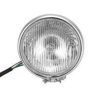 free shipping 12V 5 Chrome Motorcycle Fog Light Headlight For Honda Harley Davidson Yamaha Kawasaki Suzuki