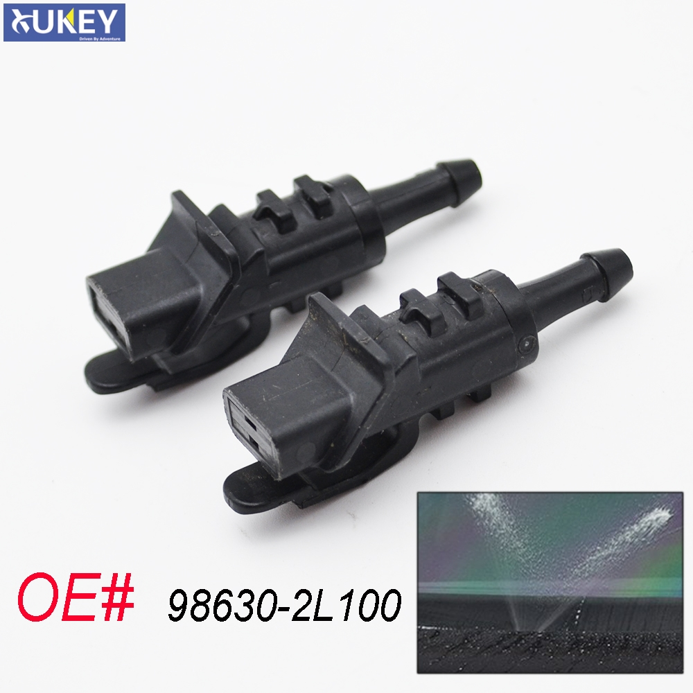 Xukey Front Windscreen Washer Nozzles Jet For Hyundai i30 Elantra Touring For Kia