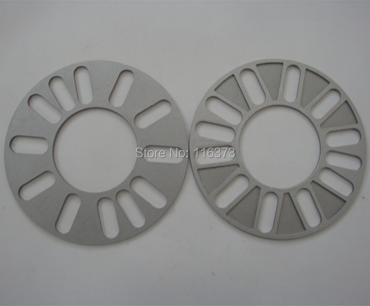 1pcs 3mm Universal <font><b>Wheel</b></font> <font><b>Spacer</b></font> Adapter 4x98 4x100 5x100 5x108 5x112 <font><b>5x114.3</b></font> 5x115 5x120 5x127 5x130 Car Styling Accessories image