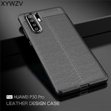 For Cover Huawei P30 Case Luxury Armor Rubber Soft Silicone Phone Back P 30 Fundas