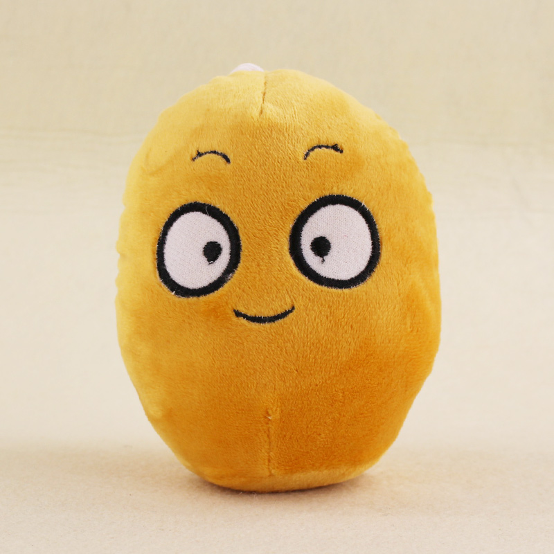 13cm Plants VS Zombies Soft Plush Toy Doll PVZ Nut Plush Sucker Pendant Stuffed Doll