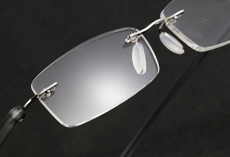 EOOUOOE Design Rimless Glasses Frame Men Women Unisex monturas de lentes mujer Reading Glasses 1 0 1 5 2 0 2 5 3 0 3 5 in Women 39 s Reading Glasses from Apparel Accessories