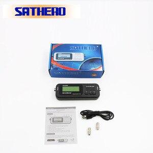 Image 5 - Sathero SH 100HD DVB S2 localizador de satélite digital, localizador de satélite digital de alta definição portátil, metros de gabinete grátis