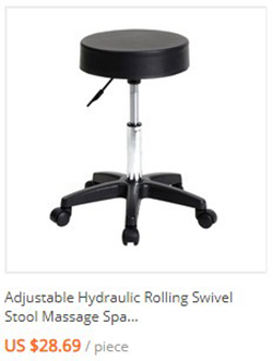 Fine Modern Hydraulic Adjustable Swivel Saddle Stool Spa Salon 5 Andrewgaddart Wooden Chair Designs For Living Room Andrewgaddartcom