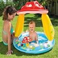 Mashroom Patrón Inflable Piscina de Agua 102*98 cm Del Bebé Niños Zwembad Piscina Bañera Bebe Juego Parque Infantil Al Aire Libre