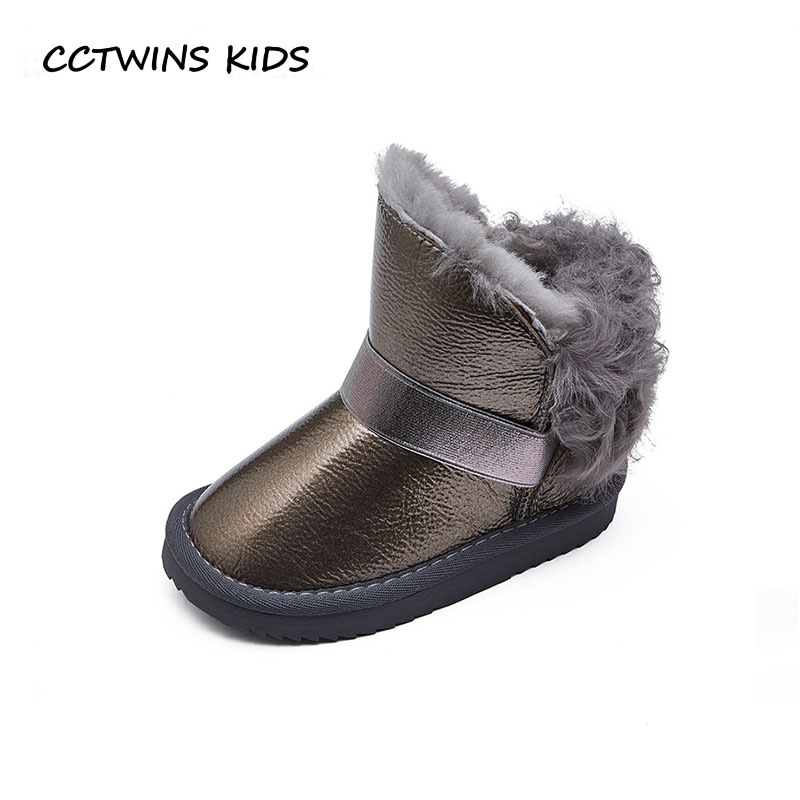 CCTWINS KIDS 2018 Winter Children Pu Leather Shoe Baby Girl Fashion Ankle Warm Boot Toddler Brand Snow Boot Black CS1542 cctwins kids 2018 winter children brand black knee high boot baby pu leather flat girl fashion warm shoe toddler h057