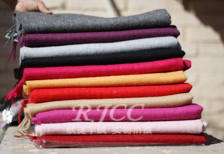 Free Shipping Fashion Unisex Autumn Winter 100% Wool Cashmere Shawl   Scarf     Scarves     wrap   613159
