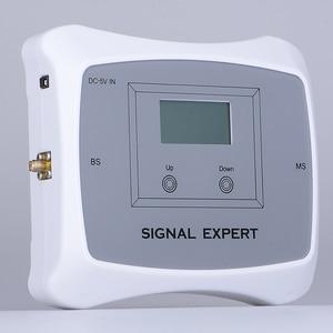 Image 2 - 70dB India Saudi Arabië Lcd scherm 4G Lte Tdd 2300 Mobiele Signaal Booster Versterker 4G Mobiele Telefoon Cellulaire repeater Antenne Set