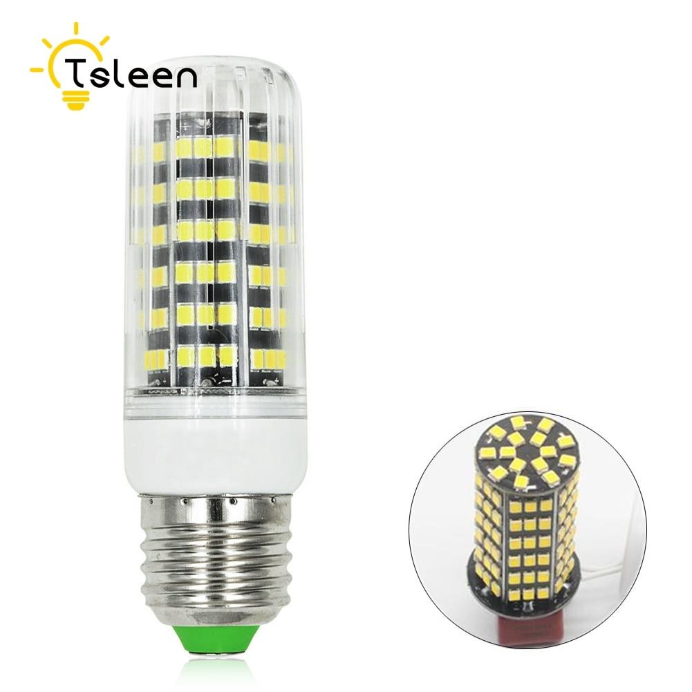 In Tsleen Energy Saving 2835smd Led Corn Bulb Lampe27 E14 G9 U10 Cool Warm White Corn Lamp+louver 110v 220v Light Novel Design;