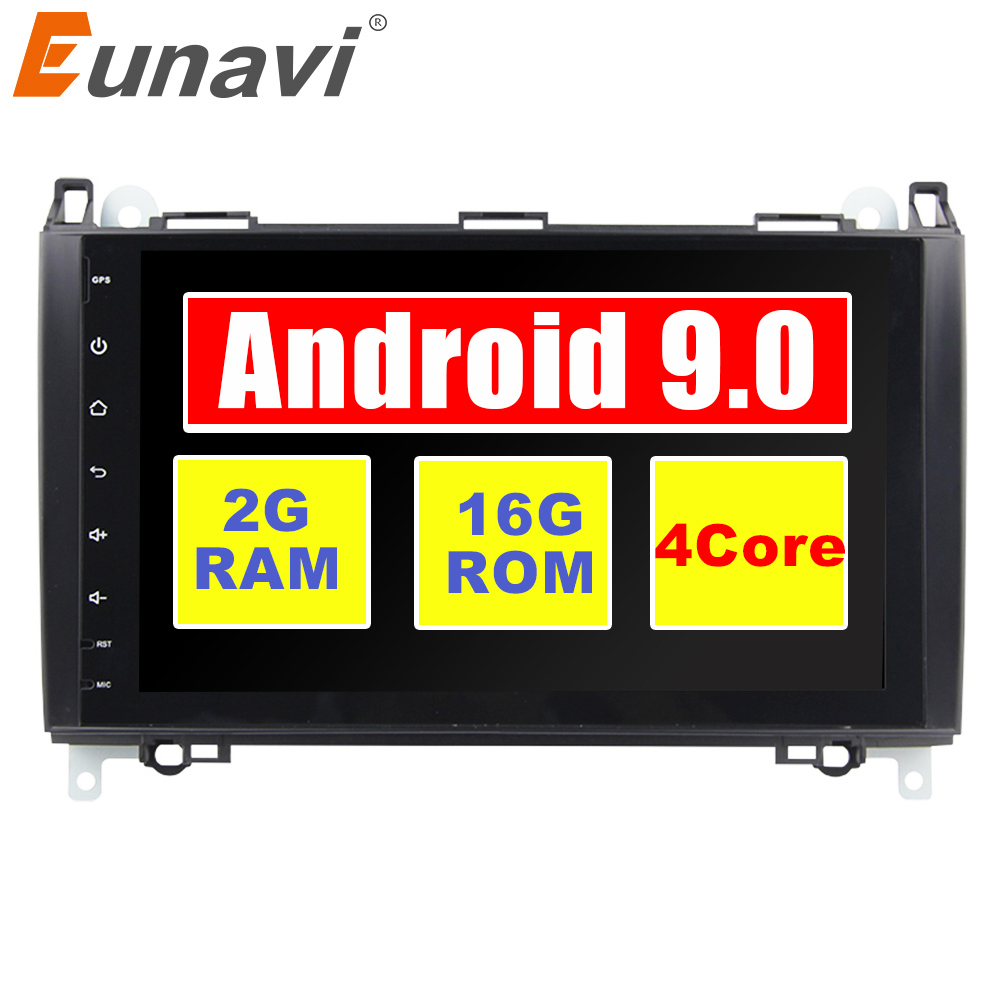 2 Din Auto Radio Android 9 For <font><b>Mercedes</b></font>/Benz/Sprinter/Viano/Vito/B-class/B200/<font><b>B180</b></font> Car Multimedia Video DVD Player <font><b>GPS</b></font> FM image