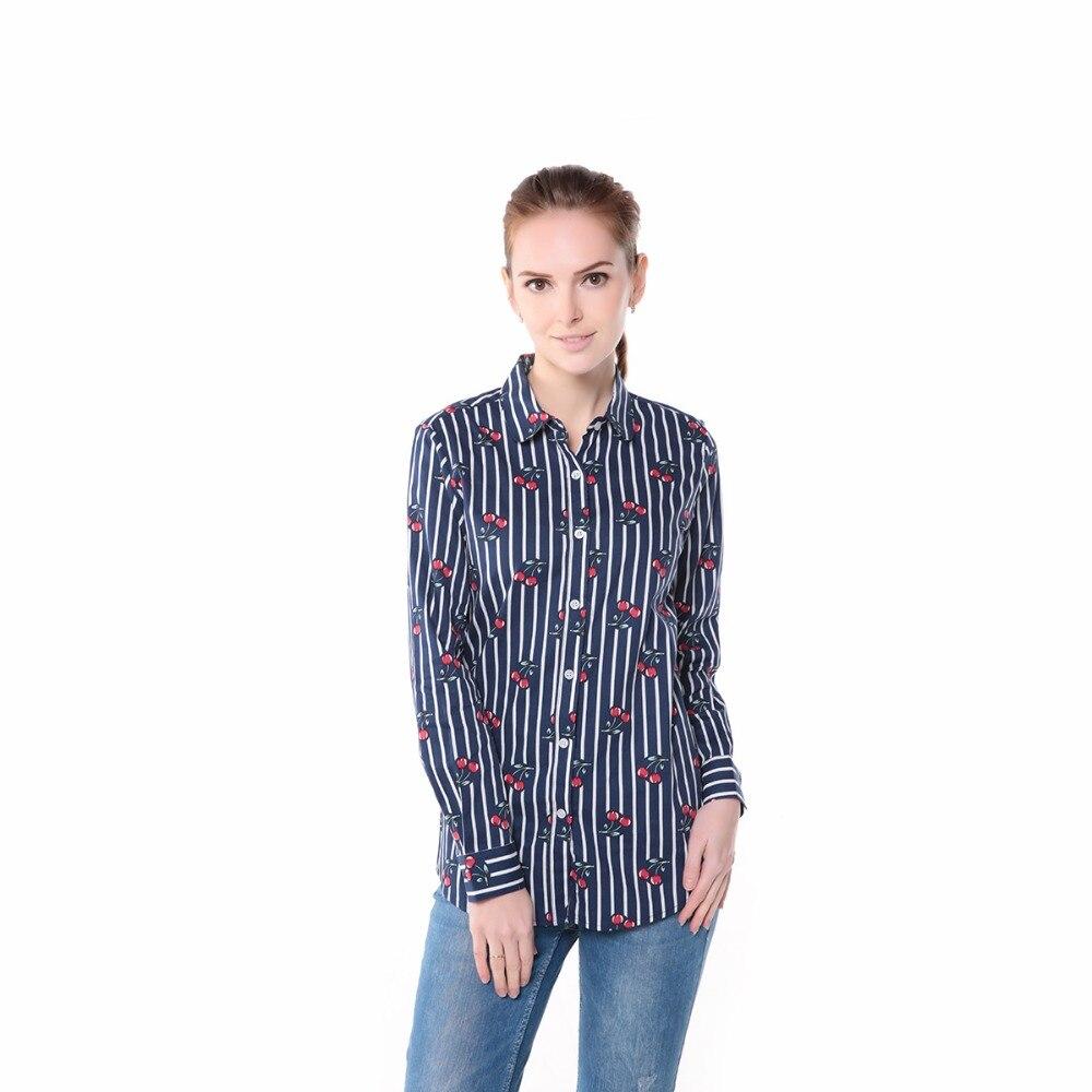 новый цветочный для женщин блузки для малышек рубашки для мальчиков повседневное вишня блузки для малышек с длинным рукавом дамы топы мода blusas с корректирующие костюмы для для женщин с плюс размеры 5xl замыкают