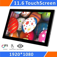 11 6 IPS 1080P Touchscreen Portable Monitor Display LCD for Raspberry Pi3 2B B A