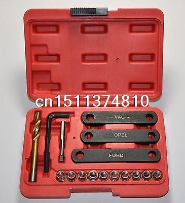 Ford GM VAG VW Audi Brake Caliper Guide Bolt Thread Repair Tool Kit Set