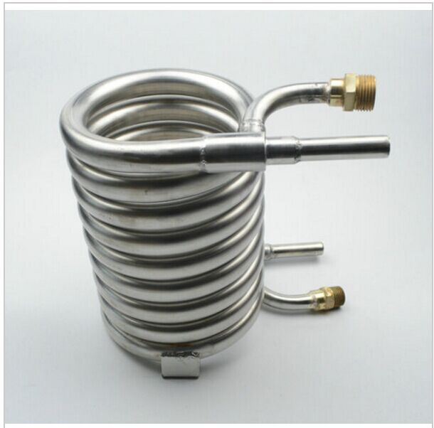 Stainless Steel 304 Counterflow Wort Chiller, Brewing Equipment wort cooling coil for homebrew