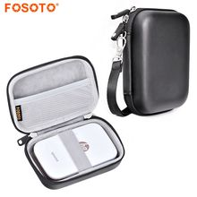 Fosoto портативный чехол Крышка дорожная сумка для хранения для Polaroid на молнии мобильного принтера hp Звездочка портативный фотопринтер