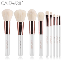 CALDWELL New Makeup Brushes Professional Cosmetics Brush Set 8pcs High Quality Top Synthetic Hair With White