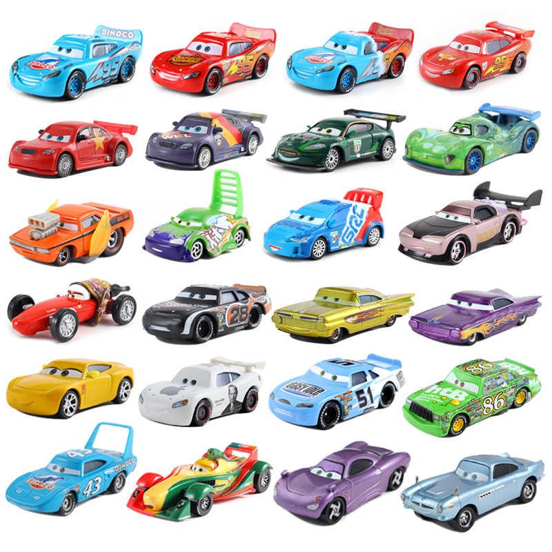 Estilos Mini Disney Pixar Cars 2 39 E Carros McQueen 3 Tempestade Diecast Metal 1:55 Solto Brand New In Estoque brinquedo Do Carro Frete Grátis