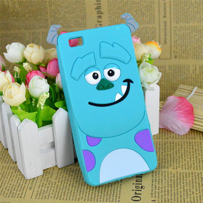 3D Cartoon Monsters University Sulley Soft Silicone Case
