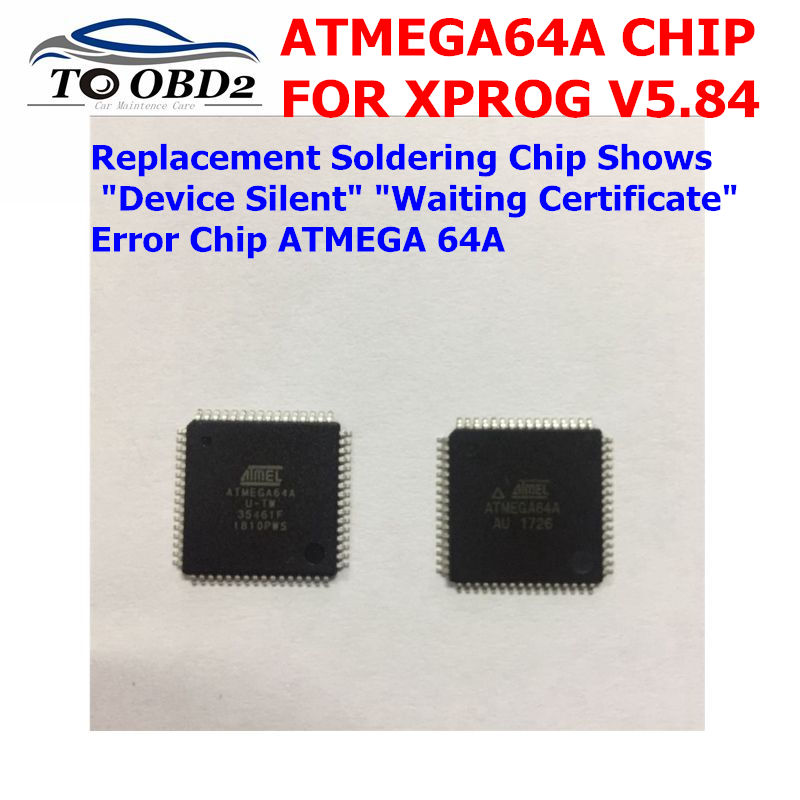 Newest ATMEGA64A ATMEGA64A-AU For <font><b>XPROG</b></font> <font><b>Xprog</b></font> <font><b>V5.84</b></font> Replacement Soldering Written program Chip Best price image
