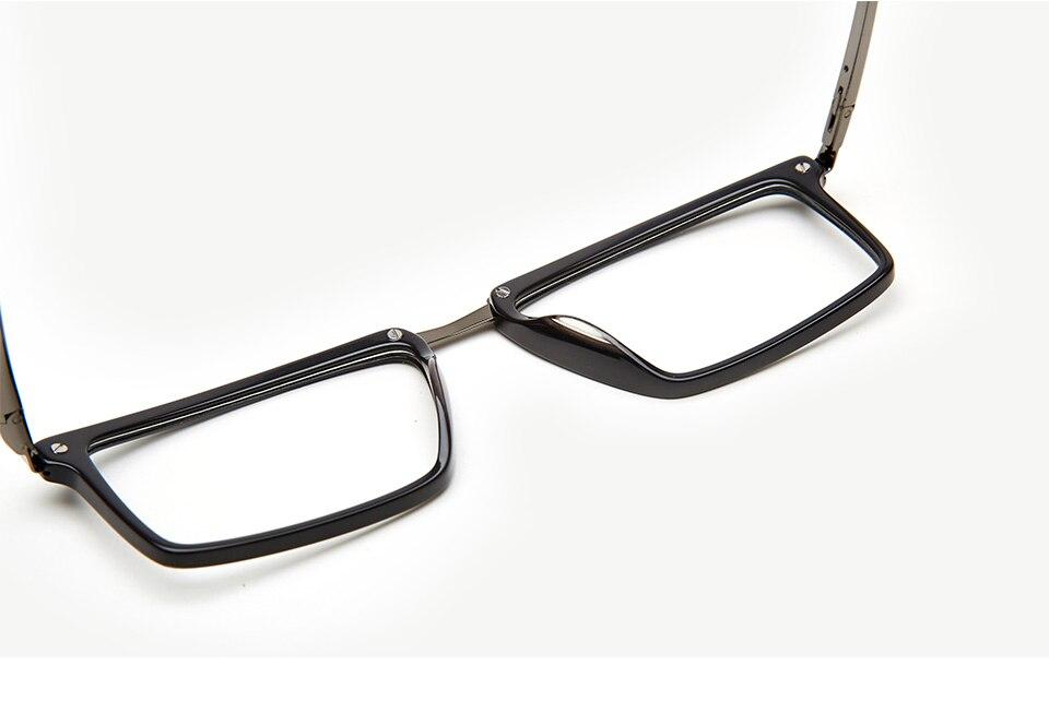 c6e3e316dc Glasses Frames Men Acetate Eyeglasses Frame Optical Eyewear Black Retro  Rectangle Spectacle Frames Male  3015G27C4