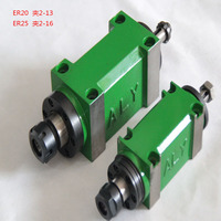 ER32 Collet Chuck Max. 5000~6000rpm. Power Head Power Unit 1500W 1.5KW 2hp Machine Tool Spindle for Milling/Boring Work