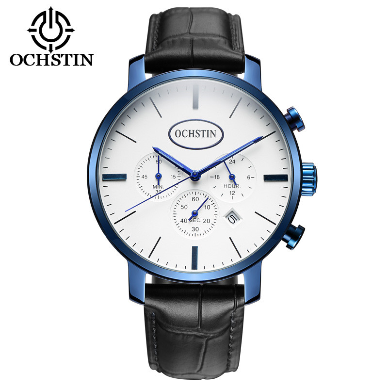 OCHSTIN Military Chronograph Quartz Watch Men Watches Top Brand Luxury Male Clock Wrist Watch Quartz-watch Relogio Masculino 2017 ochstin luxury watch men top brand military quartz wrist male leather sport watches women men s clock fashion wristwatch