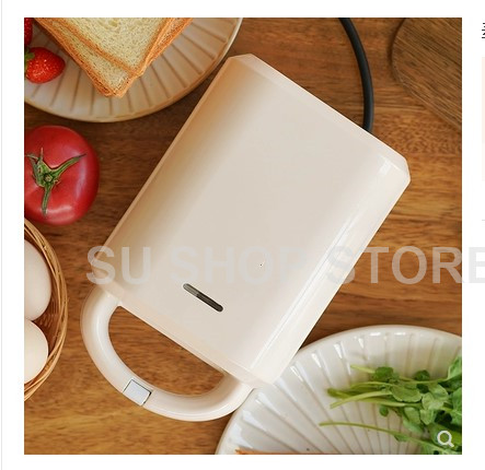 Small Nonstick Breakfast Hamburger Sandwich Maker Machine Household Mini Electric Grill Meat Roaster Machine Egg Frying Maker-in Waffle Makers from Home Appliances    2