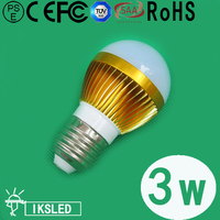 Top Quality E27 E14 B22 Free Shipping Fedex Led Light Bulb 5pcs Slot 3W SMD5730 350lm