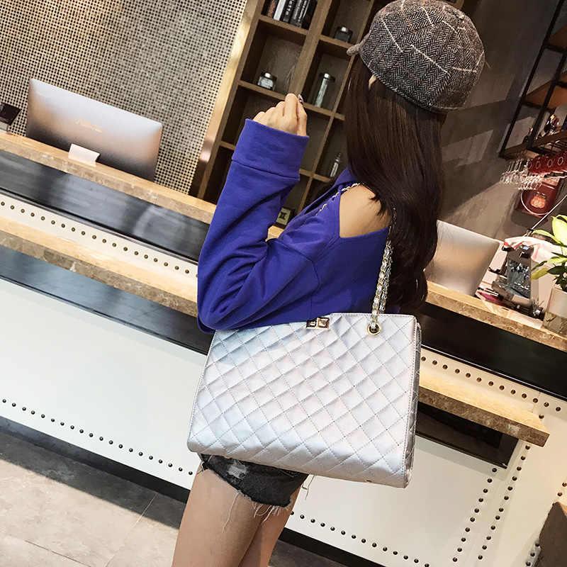 Baru 2019 Elegan Tas Bahu Wanita Desainer Mewah Handbags Tas Wanita Manis Messenger Crossbody Tas untuk Wanita