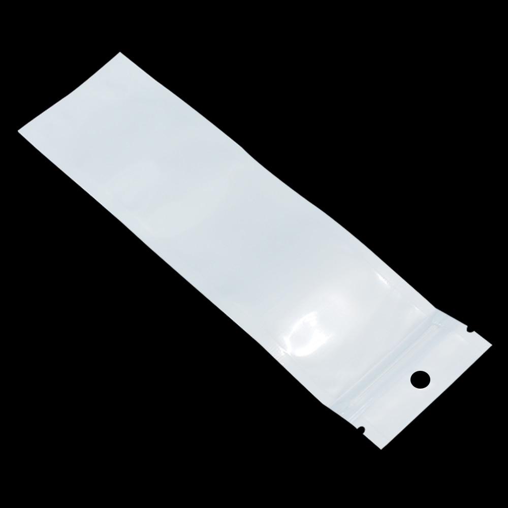 100 шт., пластиковые пакеты на молнии с застежкой-молнией