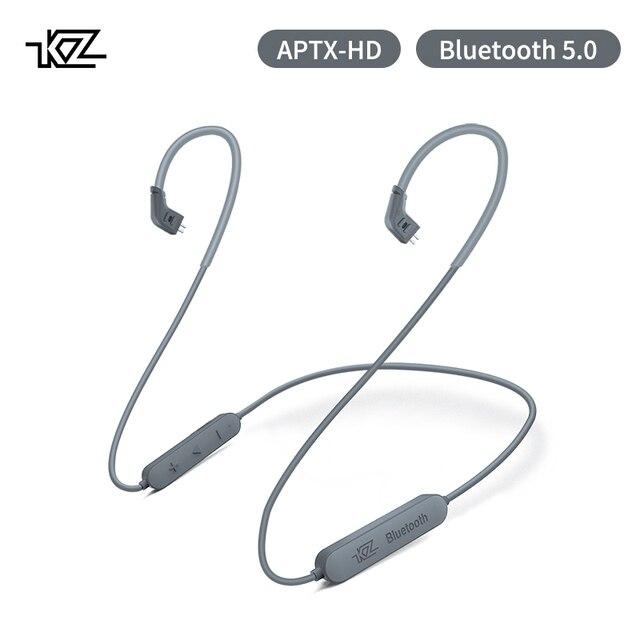 KZ Aptx 2Pin 5.0 Bluetooth כבל CSR8675 Bluetooth מודול 0.78 אוזניות שדרוג כבל עבור לZST ZS10 AS16 ZSN AS10 BA10 ZSR ZS10pro