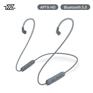 Image 1 - KZ Aptx 2Pin 5.0 Bluetooth Kabel CSR8675 Bluetooth Module 0.78 Headset Upgrade Kabel Voor ZST ZS10 AS16 ZSN AS10 BA10 ZSR ZS10pro