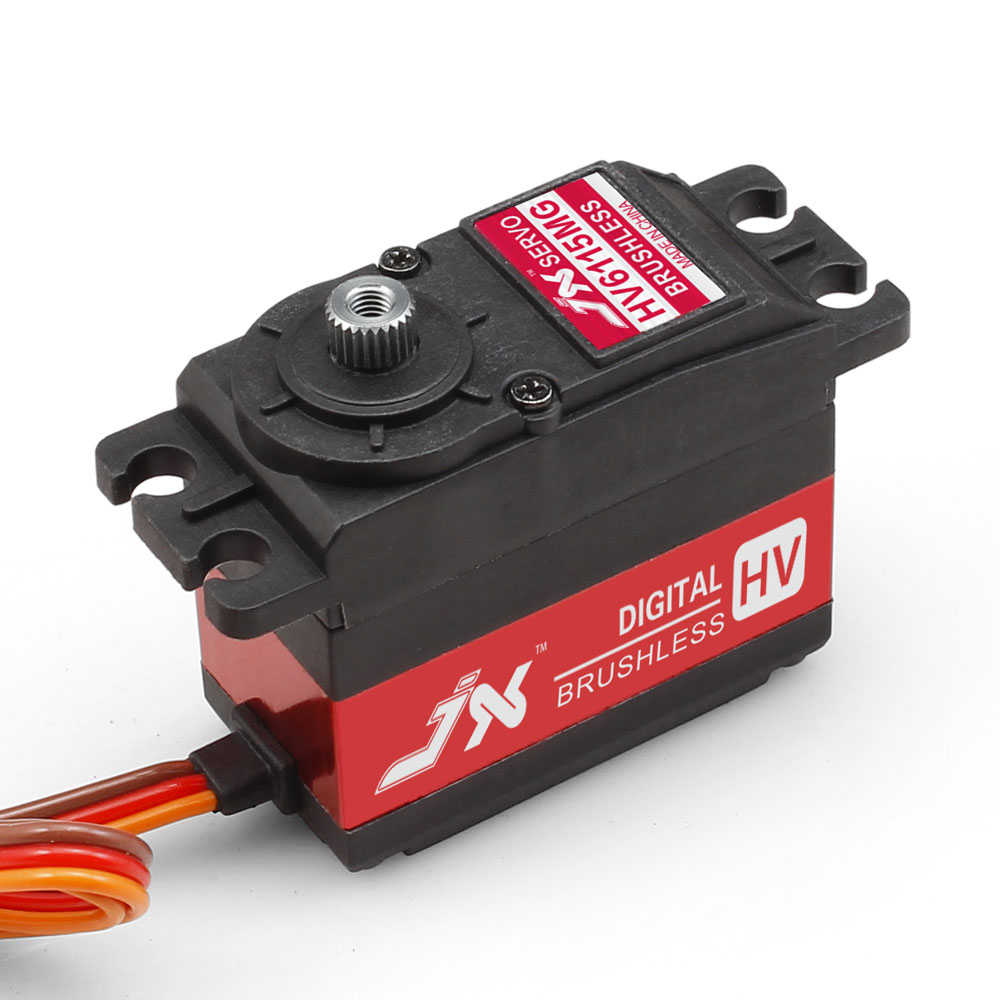 Superior Hobby JX BLS-HV6115MG 15KG High Precision Metal Gear High Voltage Brushless Digital Standard Servo superior hobby jx bls hv6105mg 5kg high precision metal gear high voltage brushless digital gyro servo