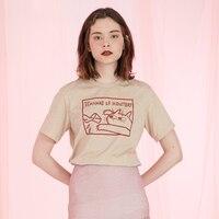 Naughty Kitten Prints Fashion Original Design Woman S T Shirt 2017 Summer New Women Tee Tops