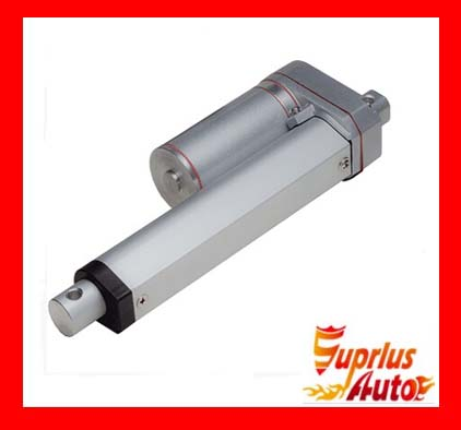 цена на 150mm/6 stroke electric linear actuator, 225LBS/100KGS/1000N load DC 12V/24V small linear actuator
