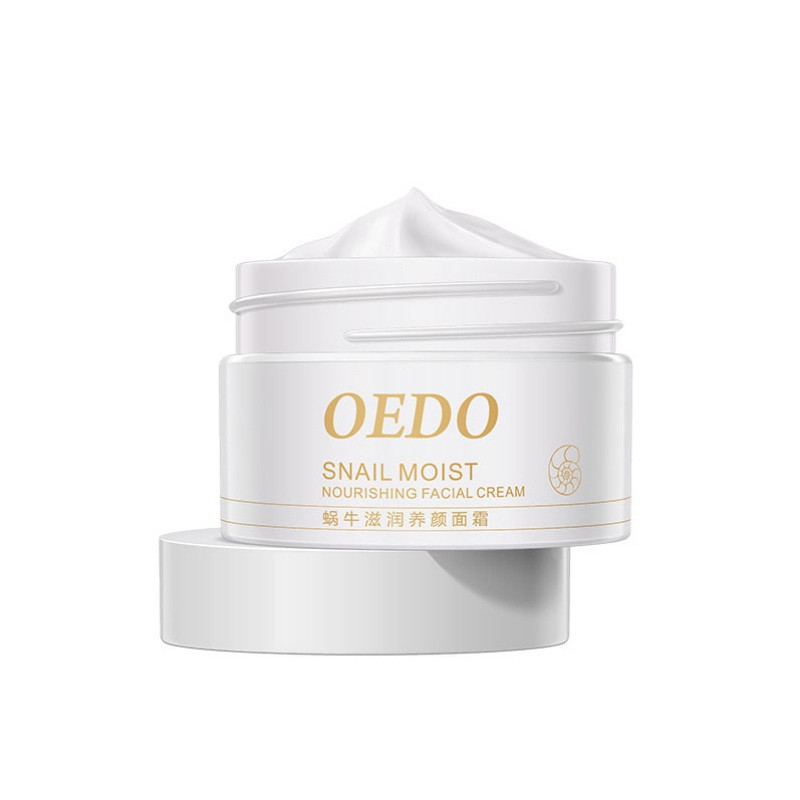 OEDO PURE Maquiagem Snail Moisturizing Makeup Whitening Anti-aging Repair Face Care Natural Cream Beauty