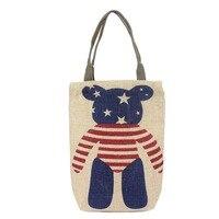 Line Tote Bags Knitting Tools Storage Bag High Capacity Shoulder Bag for Needles and Yarns