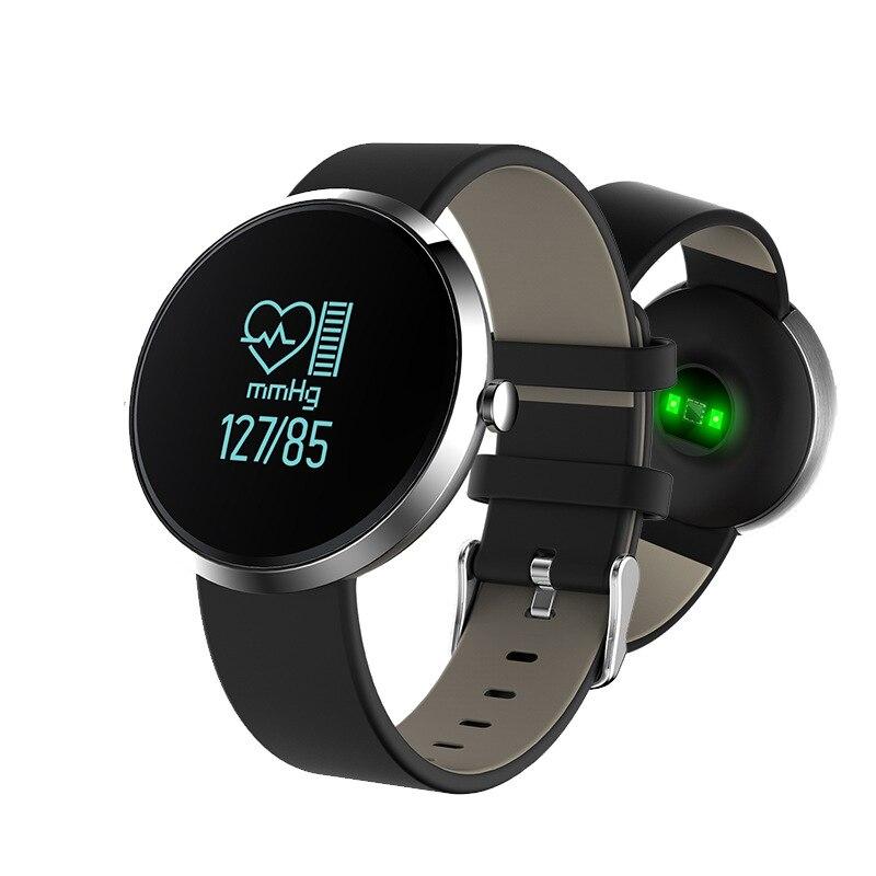 imágenes para De lujo de Pulsera Inteligente Bluetooth S10 prueba de Presión Arterial Monitor de Ritmo Cardiaco Sport Calorie Counter Rastreador de Ejercicios para Android iOS