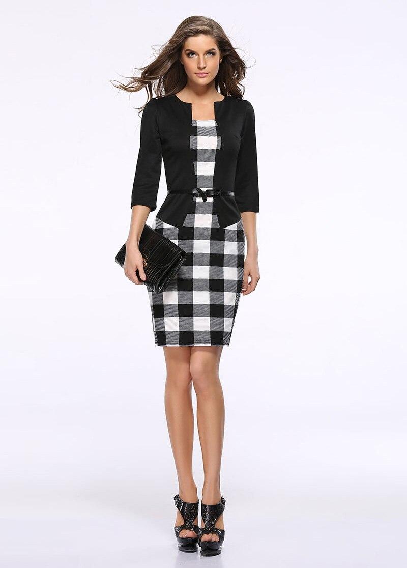Mock zweiteilige Büro Kleid Anzüge Frauen Sommer Beiläufige Elegante ...